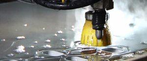 latest tech waterjet cutter
